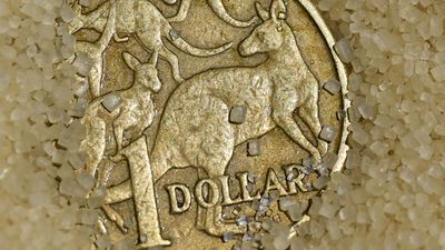 Australian dollar holds steady overnight