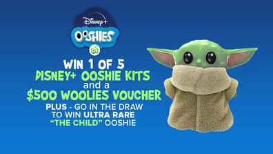 Today Woolworths Ooshie comp