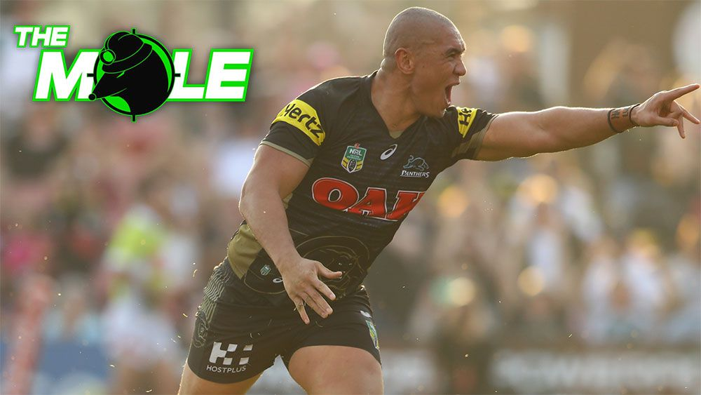 Penrith forward Leilani Latu. (AAP)