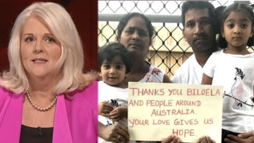 Home Affairs Minister Karen Andrews has come under fire after claiming an illness that saw the daughter of the detained Biloela family removed had been inaccurately reported.