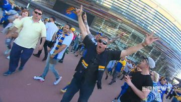 West Coast fans take to the road for grand final pilgrimage