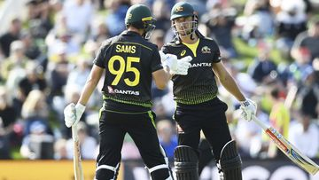 Australia fall short despite record partnership