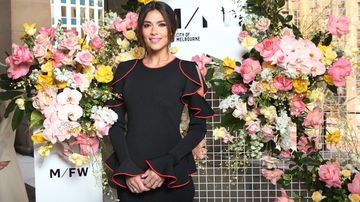 Pia Miller's 'two loves' converge for Melbourne Fashion Week