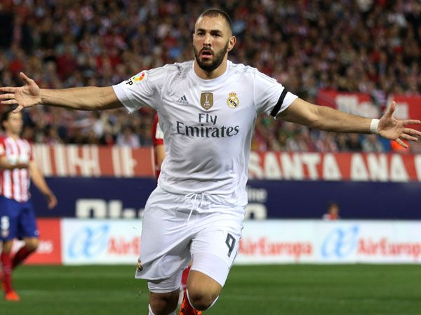 Real Madrid striker Karim Benzema. (AFP)