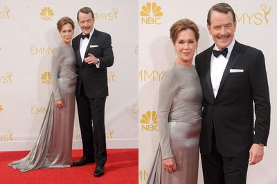 Who knew Walter White could scrub up so dapper? The <i>Breaking Bad</i> won Outstanding Lead Actor in a Drama Series for the final season of the hit AMC show.<br/><br/>His actress wife Robin didn't look too shabby either.