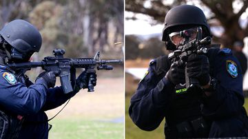 Tactical police unveil new military-style arsenal