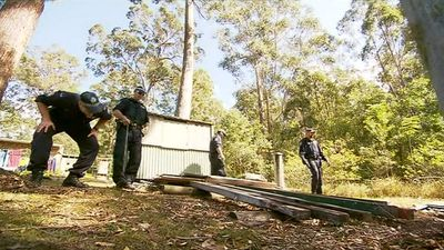 September 21: 70 police officers and volunteers conclude a nine day search through dense scrub. All 21 houses in the estate where William went missing have been searched. (9NEWS)