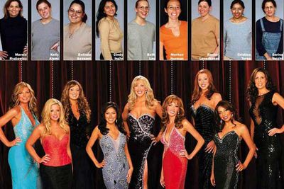 """<b>The awe-inspiring premise: </b>Sixteen women (""""ugly ducklings"""") are given """"extreme makeovers"""" that include several forms of plastic surgery, with the best eight selected to compete in a pageant and its winner crowned the """"swan"""". It was (justifiably) described as """"the most morally bankrupt TV since Al Qaeda's latest press release""""."""