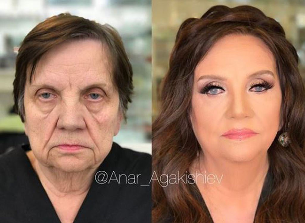 Heart wrenching transformation 9style the celebrity makeup artist from baku azerbaijan has long been touching hearts with his transformations most recently his work on older women garnered publicscrutiny Choice Image