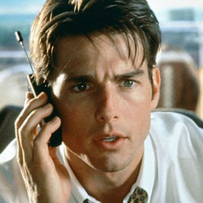 Tom Cruise as Jerry Maguire: Then