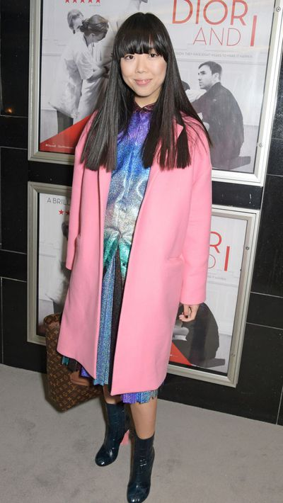 Susie Lau of website Style Bubble at the London premiere