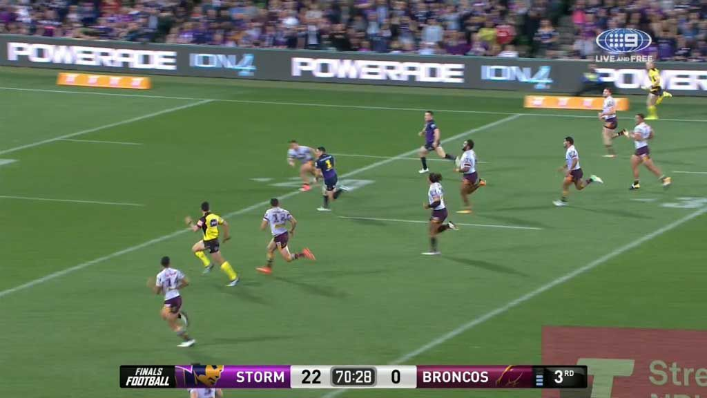 Slater becomes second highest try-scorer in history