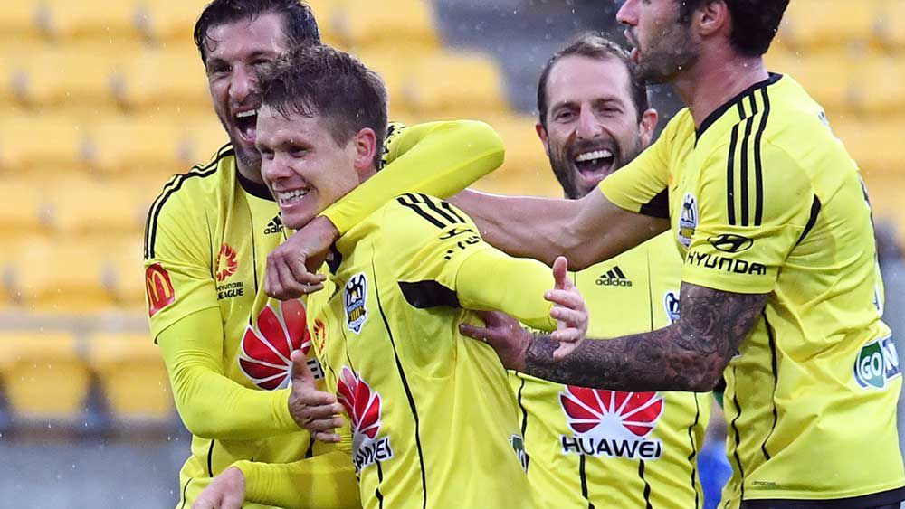 Returning midfielder Michael McGlinchey struck early to win the game for the Phoenix. (AAP)