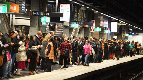 More than 220,000 passengers use Town Hall Station every day.