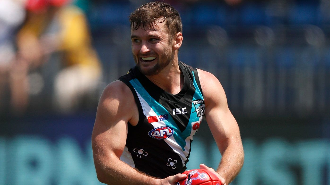 AFL: Sydney Swans secure wantaway Power forward Sam Gray