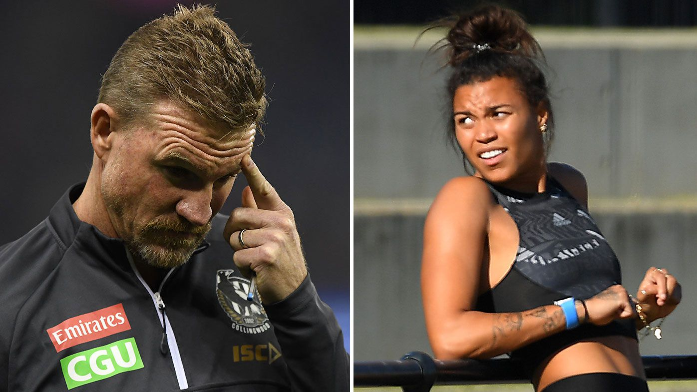Nathan Buckley reportedly forced to play peacemaker with furious Olympian over Holden Centre use