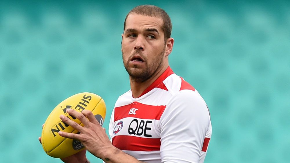 Lance Franklin. (Getty-file)