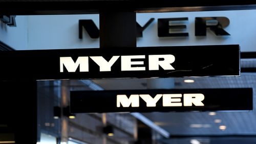 Myer first half profits share prices booming Finance news Australia