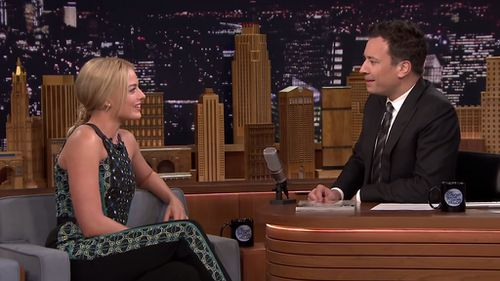 Margot Robbie told an embarrassing story about stealing toilet paper from a hotel room during a busy film shoot. (NBC)