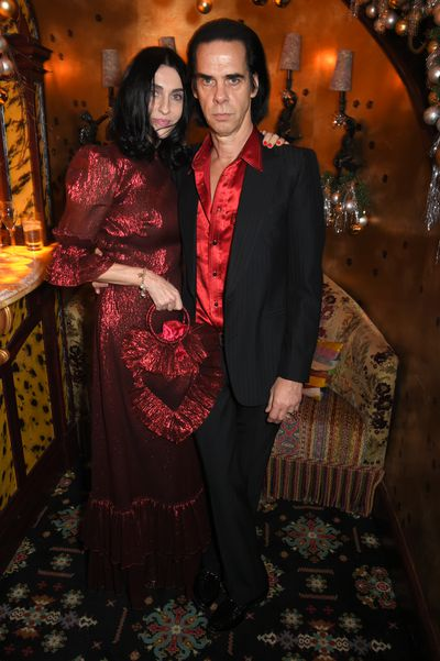 Susie and Nick Caveat The Vampire's Wife X Nick Cave X Matchesfashion.com party