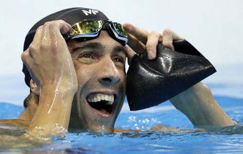 Five time Olympian Michael Phelps. Picture: AAP