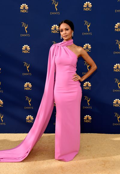 Actress Thandie Newton at the 70th Annual Primetime Emmy Awards in Los Angeles, September, 2018