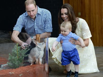 William and Kate bring Prince George to Australia, April 2014