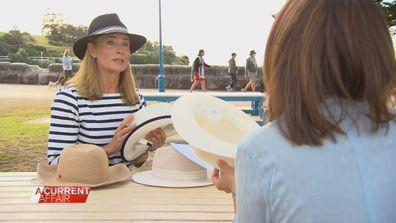 Deborah Hutton's message after skin cancer surgeries
