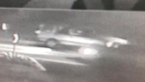 CCTV captured a car fleeing the scene on November 4, but the registration number is unknown.