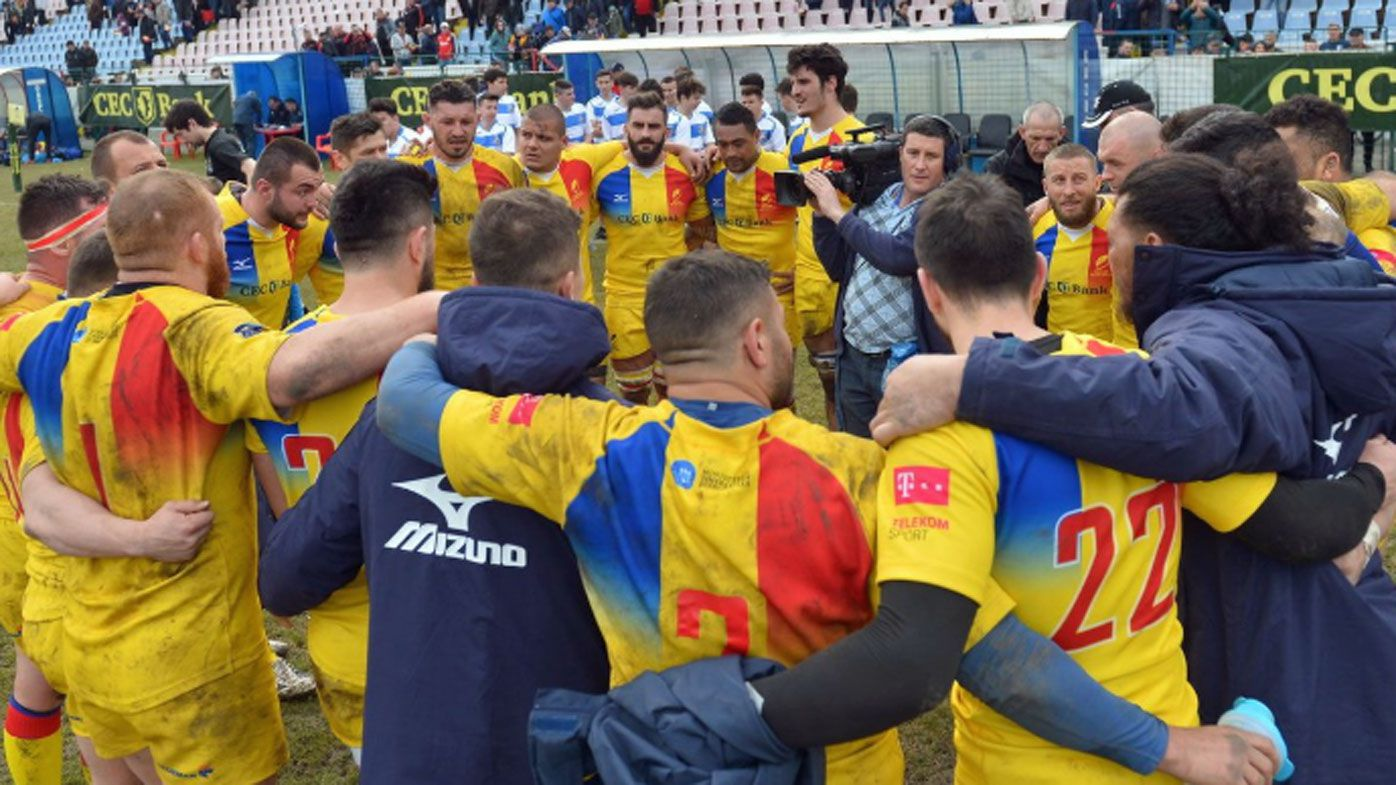 Romania out of rugby World Cup after losing points for fielding ineligible players