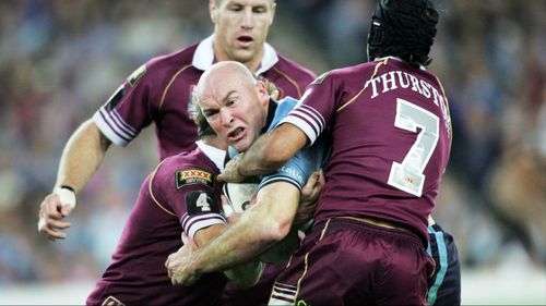 Kennedy played 13 State of Origin games for NSW. Picture: AAP