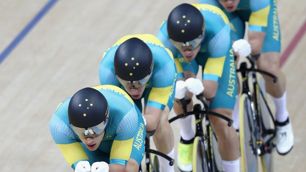 Australia's narrow loss in team pursuit