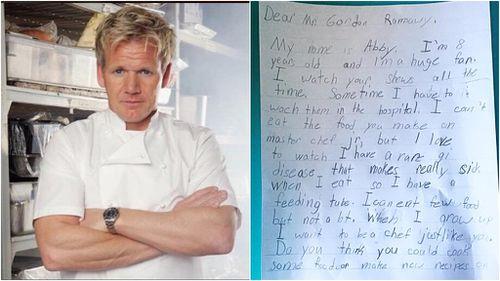 Gordon Ramsay responds to sick fan who eats through feeding tube