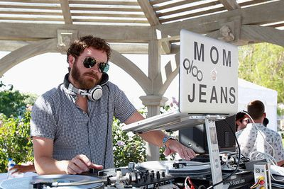 <i>That 70's Show</i> star Danny Masterson at LACOSTE L!VE 4th Annual Desert Pool Party.