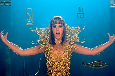 Katy Perry's Dark Horse video