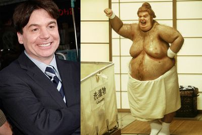As the <i>Austin Powers</i> character 'Fat B*stard'.
