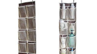 MISSLO Heavy Duty Over Door Organiser (12 pockets)