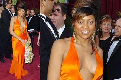 <b>Taraji P Henson 2005</b><br/><br/>Who the hell is Taraji P Henson? She's that woman who wore <i>this</i> to the Oscars that time. For the record, she played Brad Pitt's mum in <i>The Curious Case of Benjamin Button</i>.
