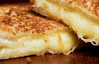 Deliveroo partner with Aussies restaurants for a 40-cheese toastie for National Cheese Day