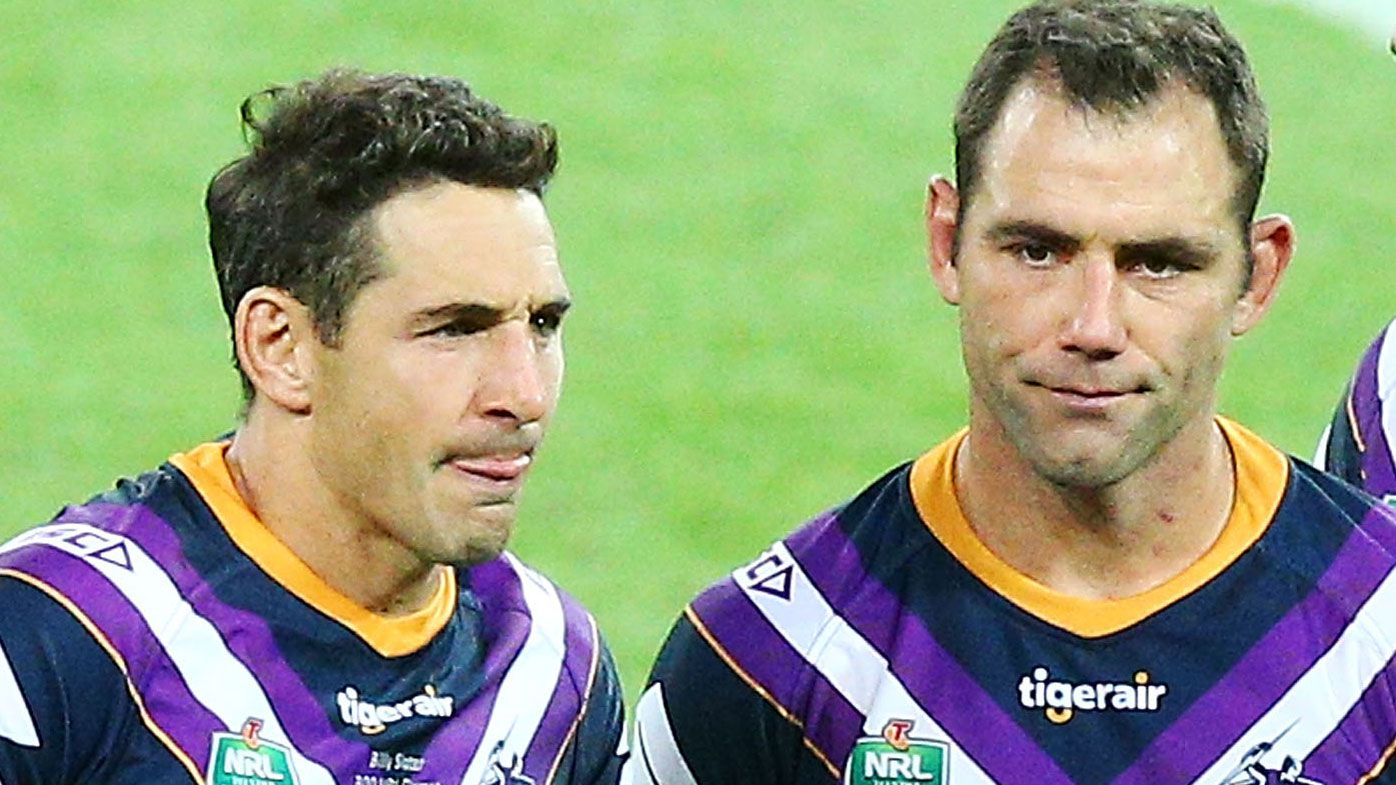 Melbourne Storm skipper Cameron Smith's pledge to send Billy Slater out a winner