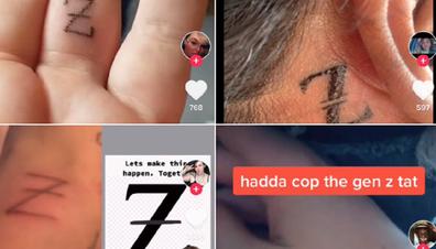TikTok viral tattoo trend Generation Z