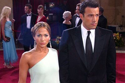 "The year of Bennifer! (Also the year of <i>Gigli</i>, the couple's on-screen debut together that's still considered one of the worst films of all time).<br/><br/>They looked <i>amazing</i> together, but also split shortly after.  There's no bad blood though – during the 2013 Golden Globes JLo was said to be ""beaming"" when Ben accepted his win for <i>Argo </i>and the pair have admitted to keeping friendly email contact. <br/>"