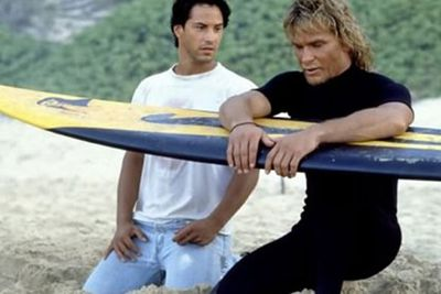 Keanu Reeves plays an undercover cop trying to expose a bunch of theiving surfers. You can't get more beachy than this!