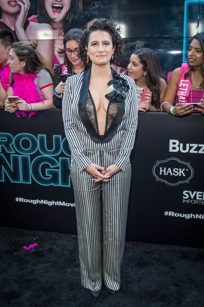 Ilana Glazer in Lanvin at the premiere of <em>Rough Night</em> in New York.