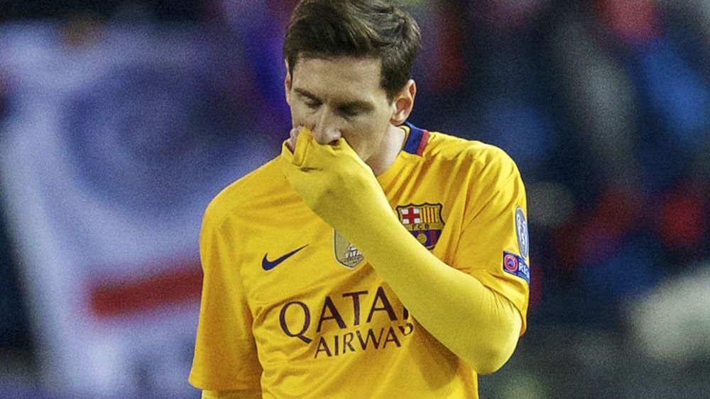 Barca bounced out of Champions League