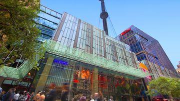 Westfield Sydney is a shopping hotspot.