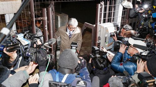 Ghosn's lawyer Motonari Ohtsuru visited him at the detention centre earlier on Sunday