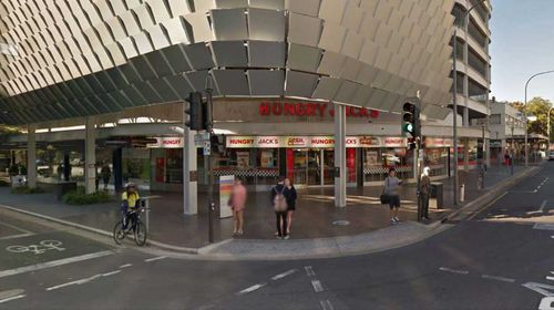 The Adelaide outlet where the incident occurred (Streetview)