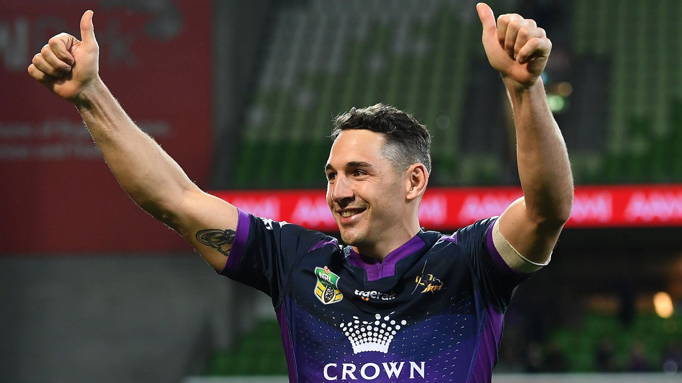 Melbourne Storm champion Billy Slater announces NRL retirement at end of 2018 season