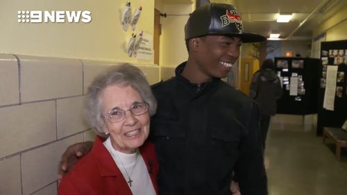 Sister Donna Liette is helping to save lives in Chicago. (9NEWS)